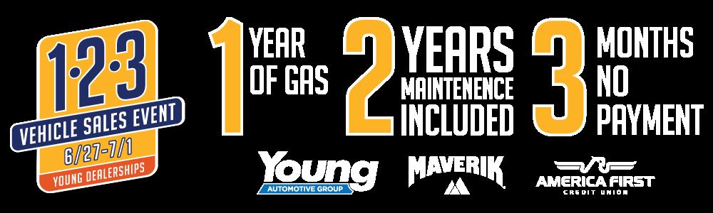 Young Automotive Group - 1-2-3 Sale